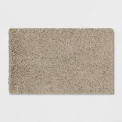 "21""x34"" Bath Rug Taupe - Threshold Signature™"