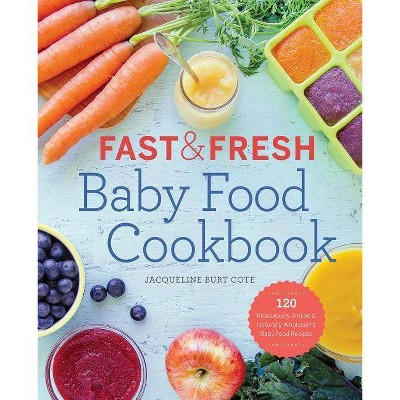 Fast & Fresh Baby Food Cookbook - by Jacqueline Burt Cote (Paperback)