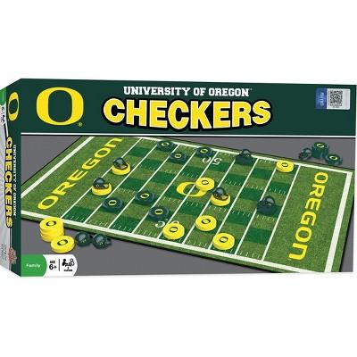 MasterPieces NCAA Oregon Checkers Board Game