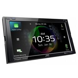 """JVC KW-M855BW 6.8"""" Digital Media Receiver w/ Wireless CarPlay and Wireless Android Auto"""