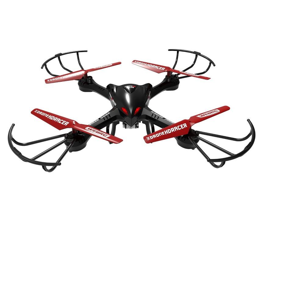 WebRC XDrone HD Racer Drone - Black