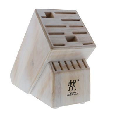 ZWILLING TWIN 16-slot Knife Block - Rustic White