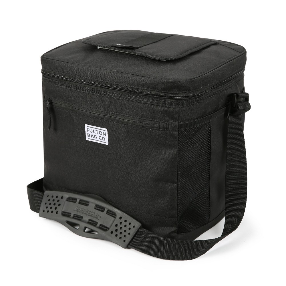 Image of Fulton Bag Co. 24qt Can Cooler with Liner - Gray, Dark Gray