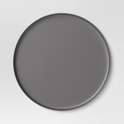 "10.5"" Bamboo Palate Dinner Plate Gray - Project 62™"