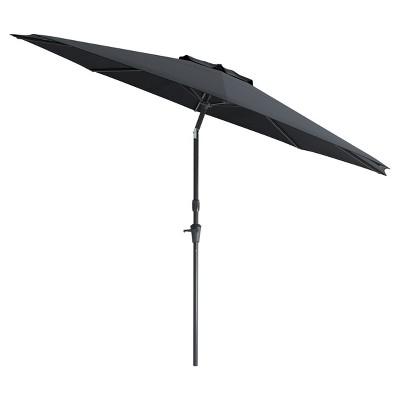 10' Wind Resistant Tilting Patio Umbrella - CorLiving