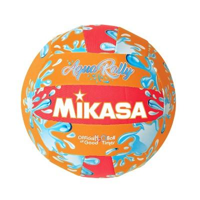 Mikasa Aqua Rally Volleyball, Orange/Red