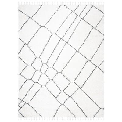 8'x10' Erlinda Rug Ivory/Gray - Safavieh