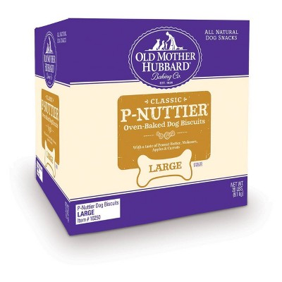 Old Mother Hubbard Classic Crunchy  P-Nuttier Biscuits Large Oven Baked Dog Treats