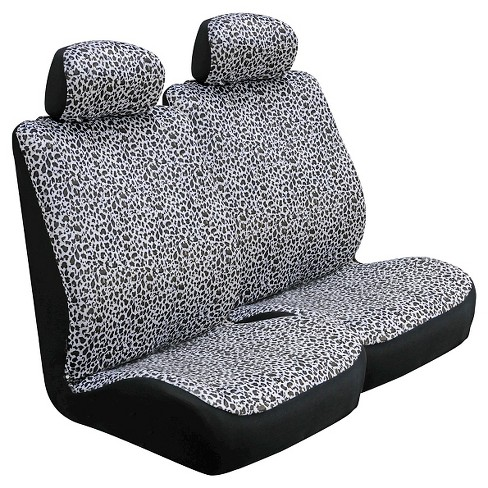 Type S® Snow Leopard Seat & Steering Wheel Cover Set - image 1 of 1