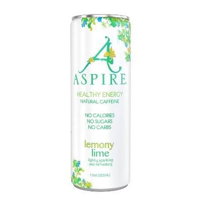 Aspire Lemony Lime Energy Drink - 12 fl oz Can