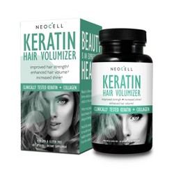 NeoCell Keratin Hair Volumizer Caplets - 60ct