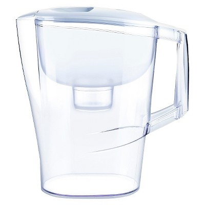 Water Filtration Pitcher White 10 Cup Capacity - Up&Up™
