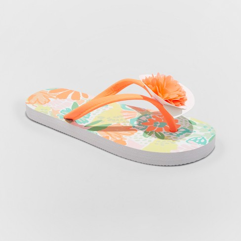 323b20afb6af Girls  Haley Flip Flop Sandals - Cat   Jack™ Coral L   Target