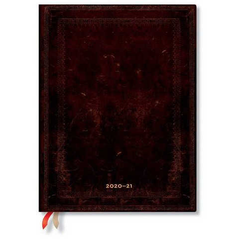 Paperblanks 2020-2021 Black Moroccan Bold 18-Month-Flexis - (Hardcover) - image 1 of 1