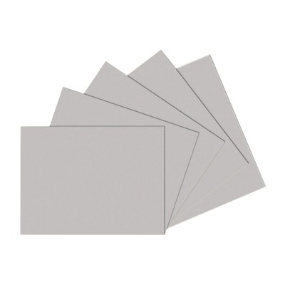 Sax Gray Drawing Paper, 12 x 18 Inches, 80 lb, Pearl Gray, 500 Sheets