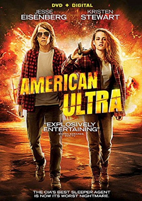 American Ultra (DVD) - image 1 of 1