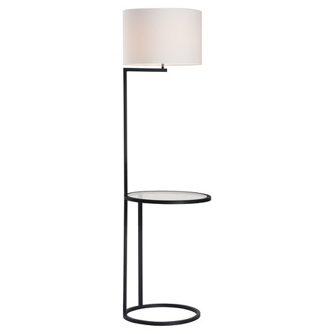 "Classic Black and White 69"" Floor Lamp (Lamp Only) - ZM Home - image 1 of 2"