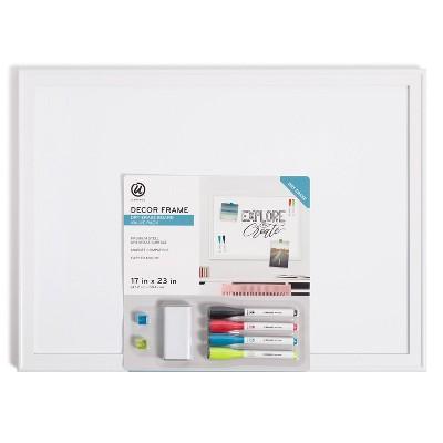 "U Brands 17""x23"" Minimal Deco Dry Erase Board Value Pack"