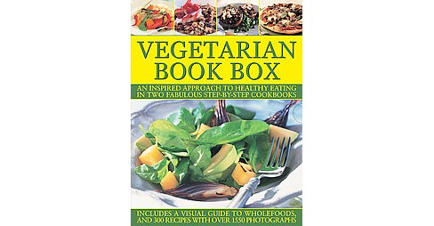 Vegetarian Book Box : An Inspired Approach to Healthy Eating in Two Fabulous Step-by-step Cookbooks - image 1 of 1