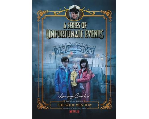 Wide Window -  (A Series of Unfortunate Events) by Lemony Snicket (Hardcover) - image 1 of 1