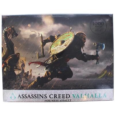 Dark Horse Comics Assassins Creed Valhalla Fortress Assault 1000 Piece Jigsaw Puzzle