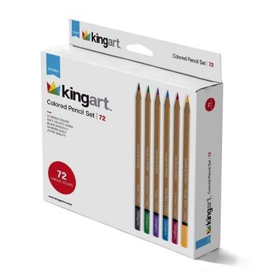 72pc Studio Colored Pencil Set - Kingart