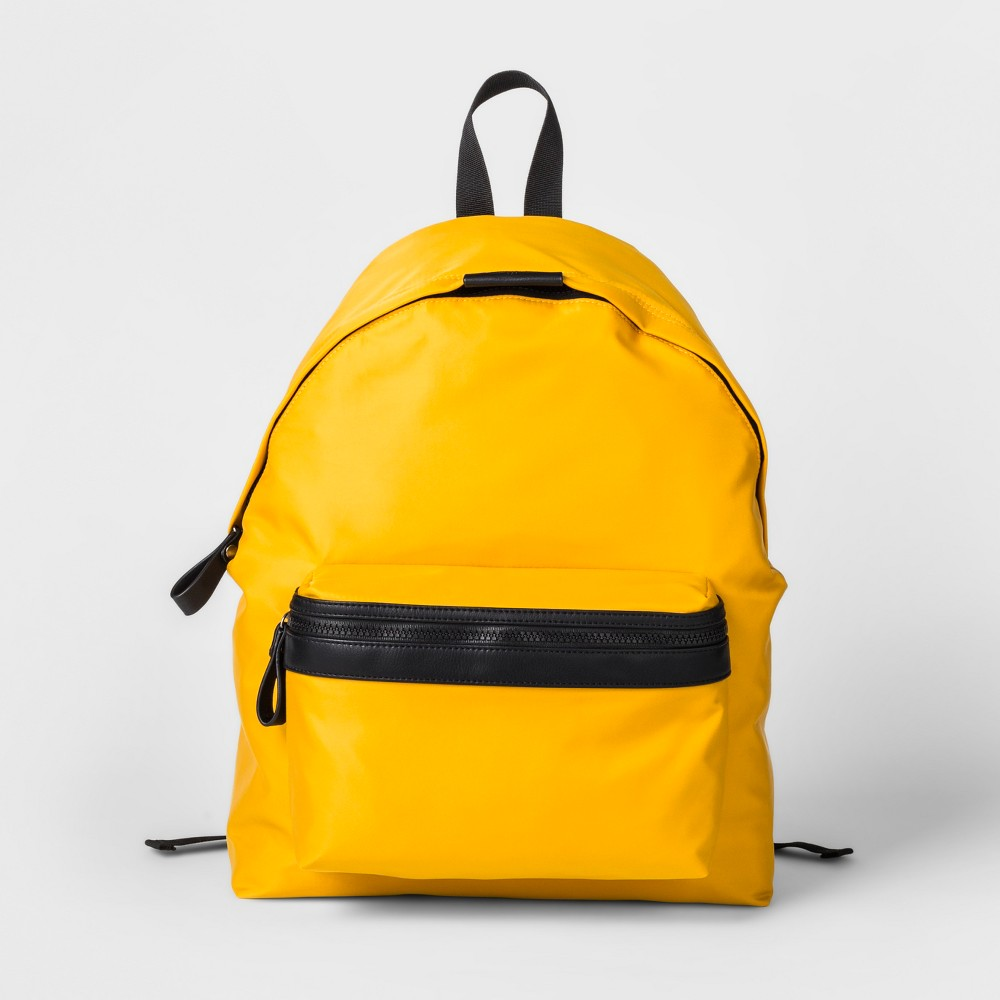 Men's Nylon Dome Backpack - Goodfellow & Co Yellow