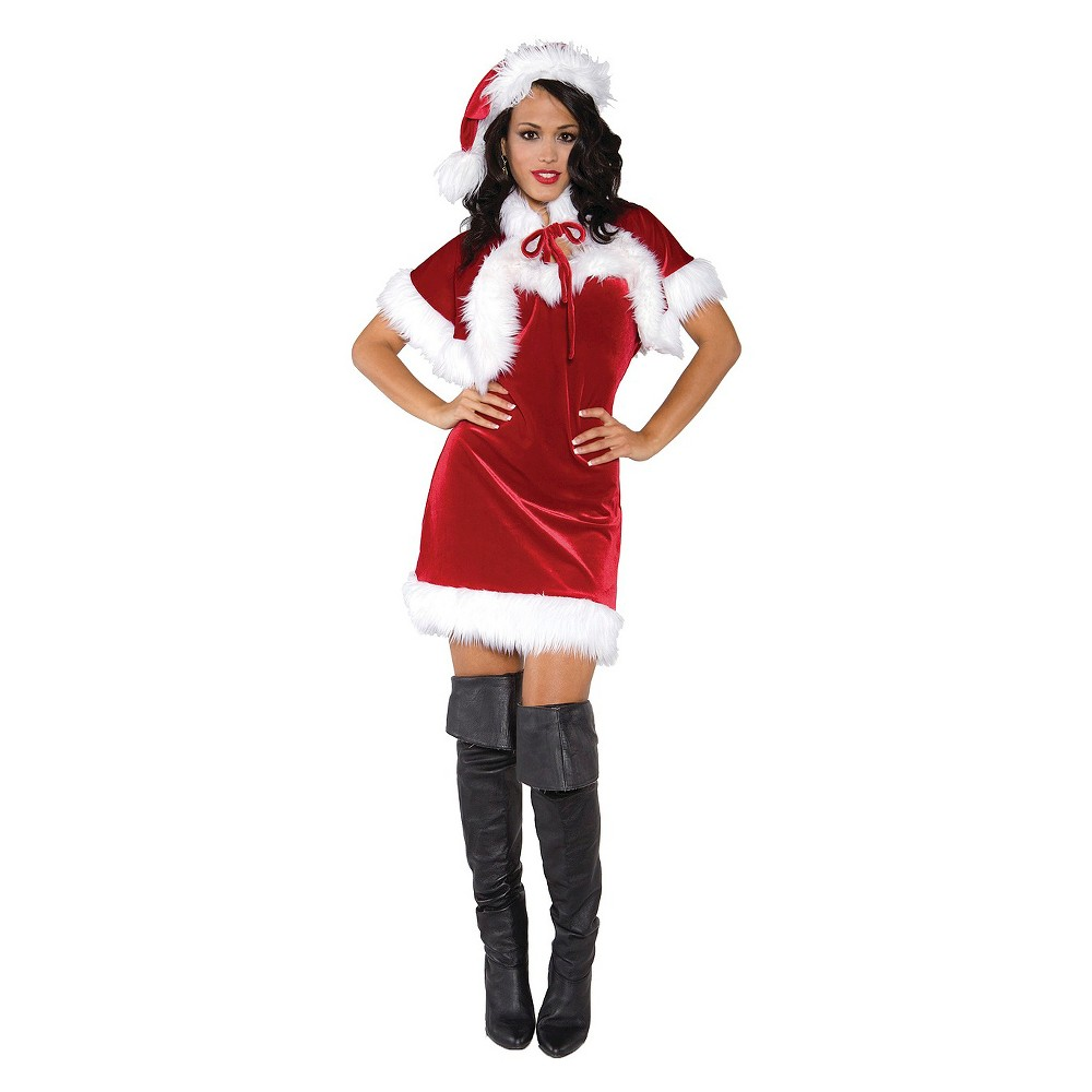 Women's Merry Holiday Costume Large, Red