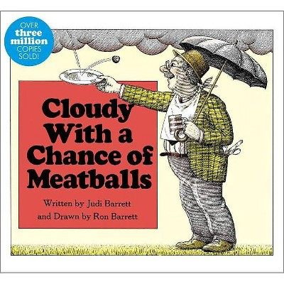 Cloudy with a Chance of Meatballs by Judi Barrett (Board Book)
