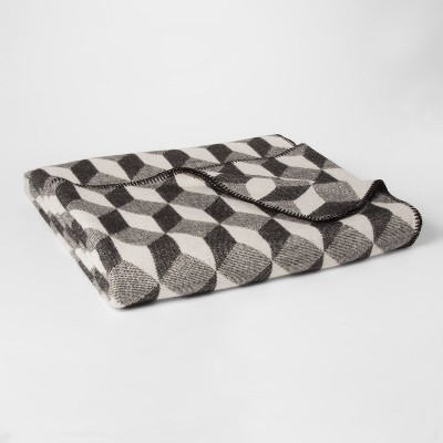 Modern Bed Blanket (Twin)Black & White - Project 62™