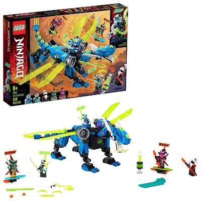 LEGO NINJAGO Jay's Cyber Dragon Ninja Building Set 71711