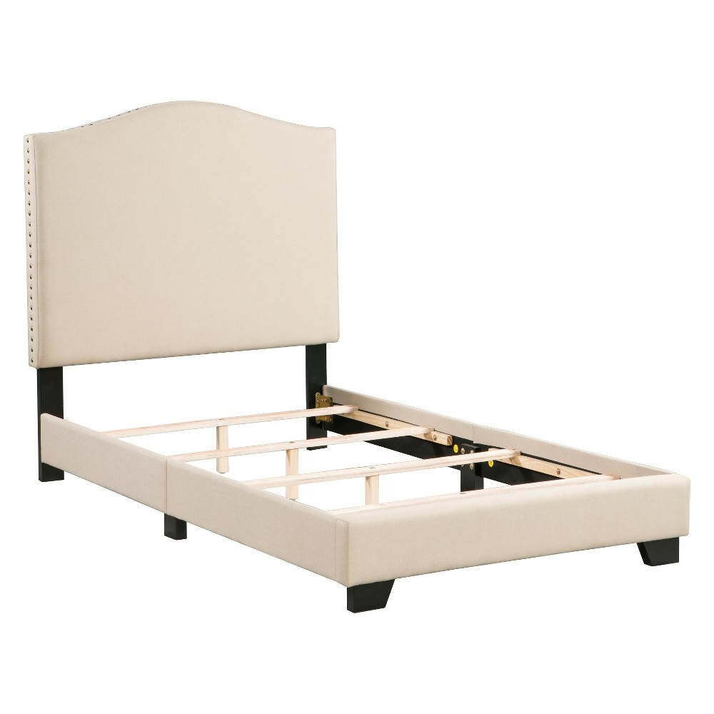 Dione Bed In A Box Tan Queen - Boraam