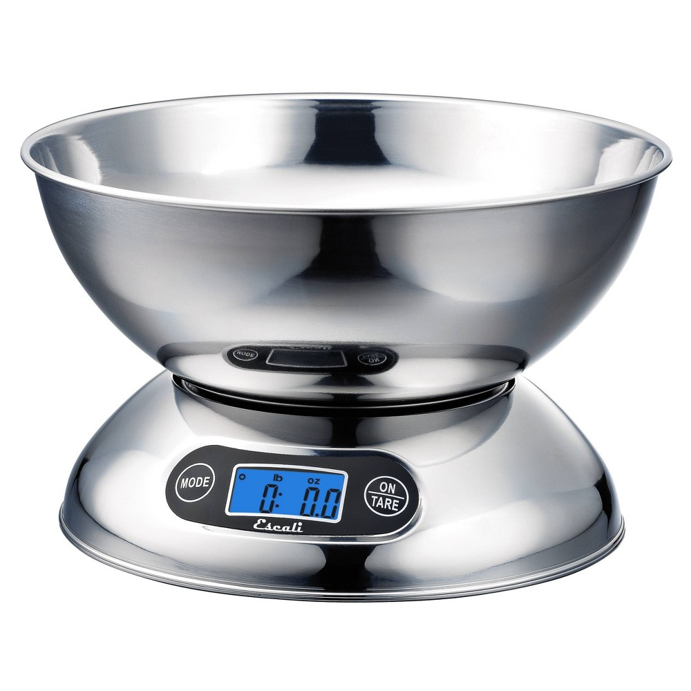 Image of Escali Rondo Stainless Steel Kitchen Scale