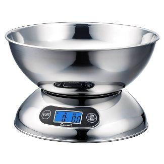 Escali Rondo Stainless Steel Kitchen Scale