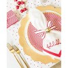 Gold Scalloped Charger Set of 4 - sugar paper™ - image 4 of 4