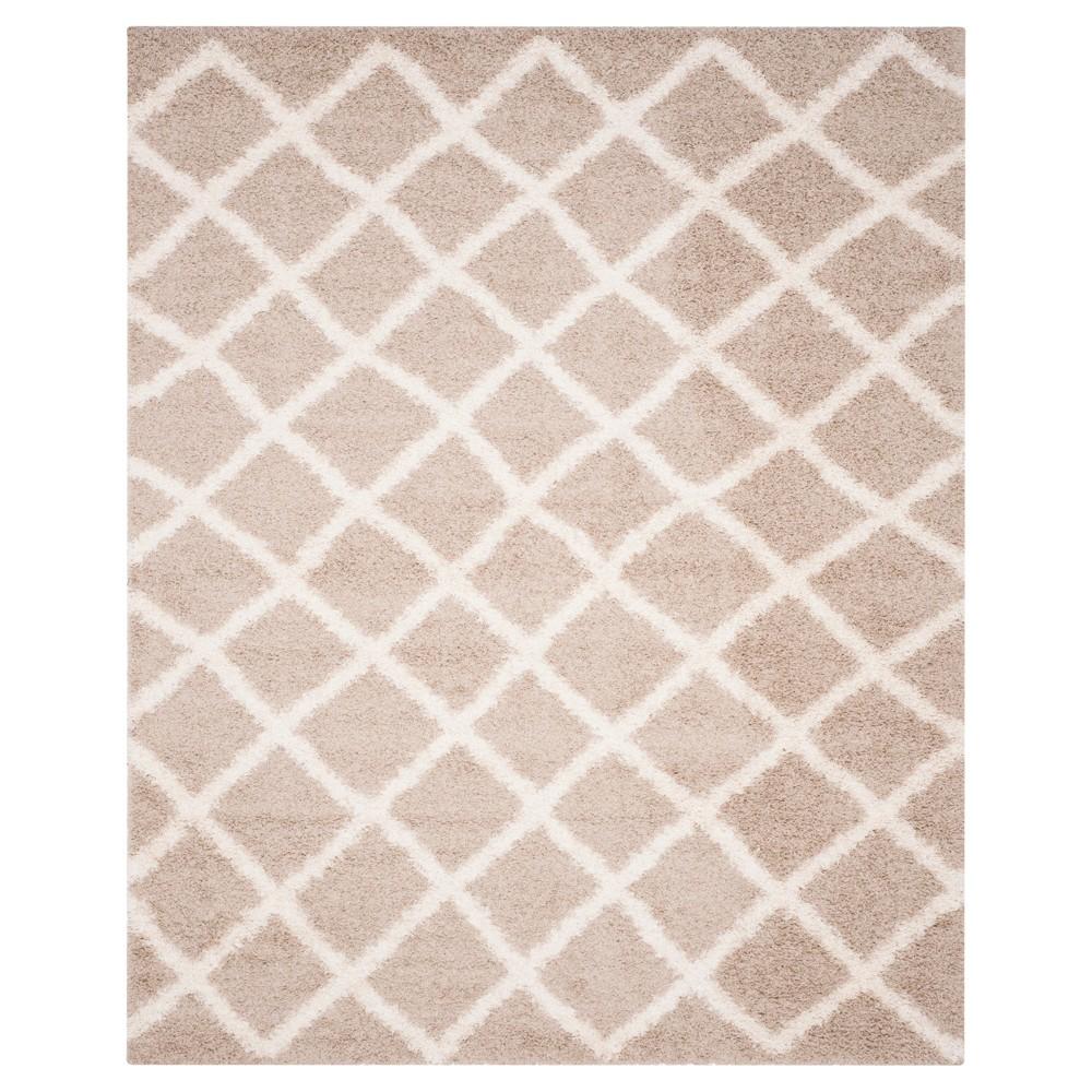 Beige/Ivory Geometric Loomed Area Rug - (10'X14') - Safavieh