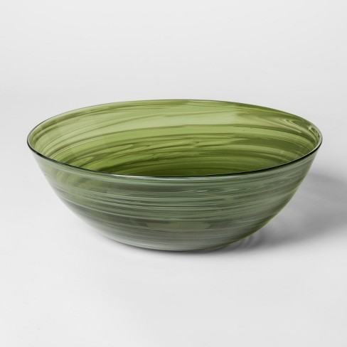 Decorative Glass Bowl Green Olive Project 62 Target
