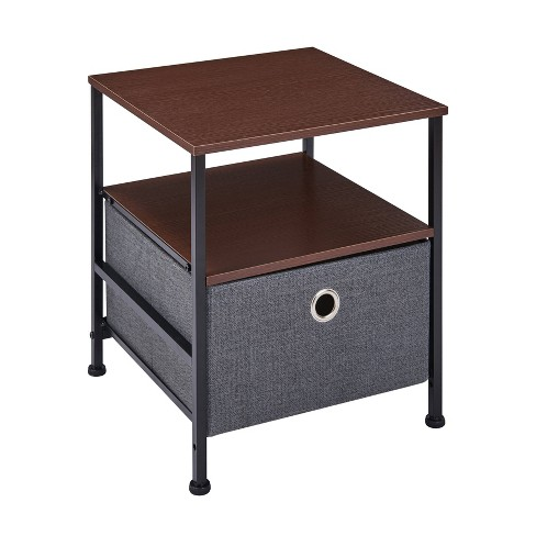 Modern Nightstand End Side Table With