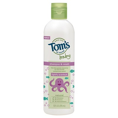Tom's of Maine 10 oz Baby Bath Wash