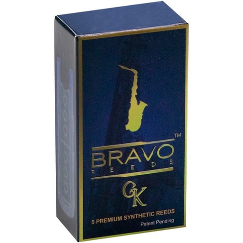Bravo Reeds Synthetic Alto Saxophone Reed 5 Pack - image 1 of 4