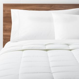 White Solid Down Alternative Comforter (Twin XL) - Made By Design™