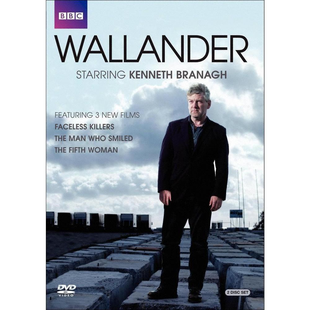 Wallander:Faceless Killers/Man Who Sm (Dvd)