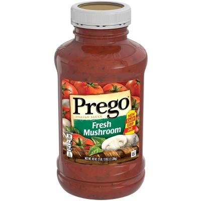 Prego Fresh Mushroom Italian Sauce 45oz