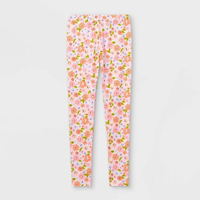 Girls' Floral Leggings - Cat & Jack™