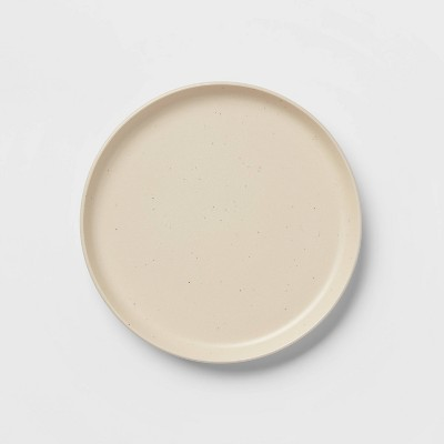 "8.5"" Stoneware Tilley Salad Plate White - Project 62™"
