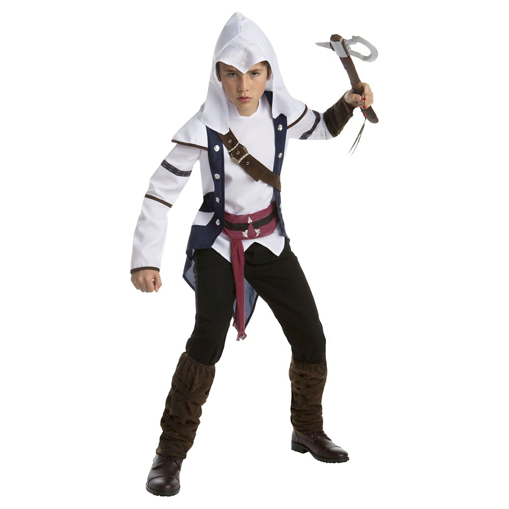 Image of Halloween Kids' Assassin's Creed Connor Classic Costume - X-Large, Men's, MultiColored