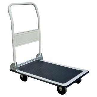 Folding Platform Truck 330 Lbs Capacity - Gray - Pro-Series
