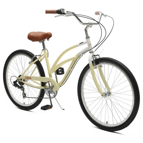 "Critical Cycles Ladies Chatham 7-speed Cruiser Bike- 26"" - Sand - image 1 of 2"