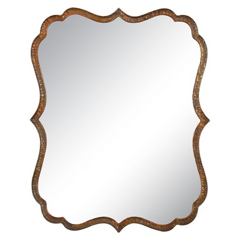 Scalloped Spadola Decorative Wall Mirror Copper - Uttermost - image 1 of 1