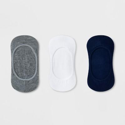 Girls' 3pk Liner Socks - Cat & Jack™ Navy